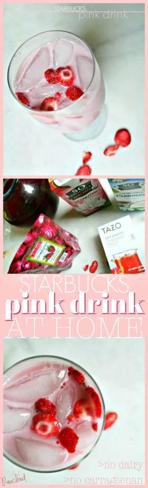 Starbucks Pink Drink DIY