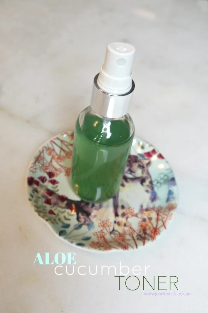 DIY Aloe Toner