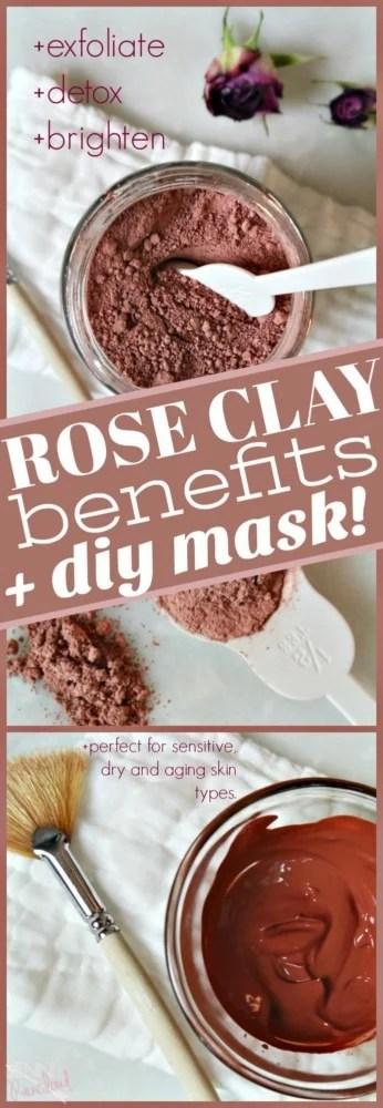 Rose Clay Mask DIY