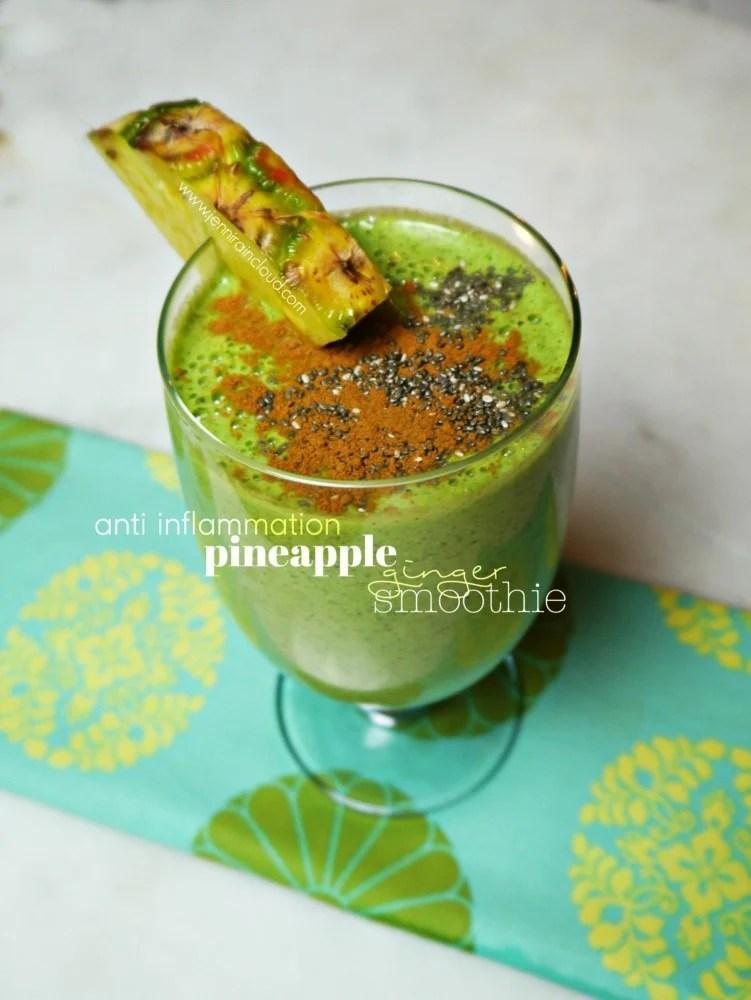 Pineapple Ginger Smoothie Recipe