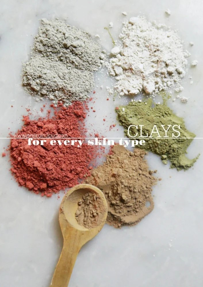 Clays for every skin type