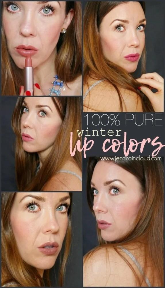 100% Pure Lipsticks