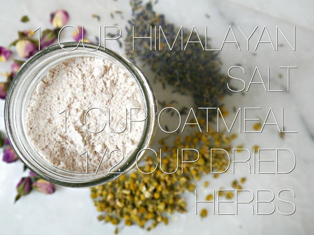 Oatmeal Bath Soak