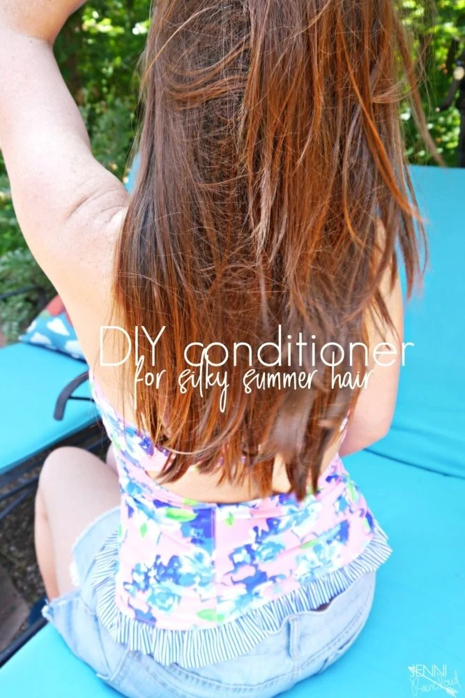 Diy Hair Conditioner For Shiny Hair Jenni Raincloud