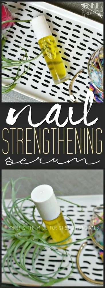 Nail Strengthening Serum DIY