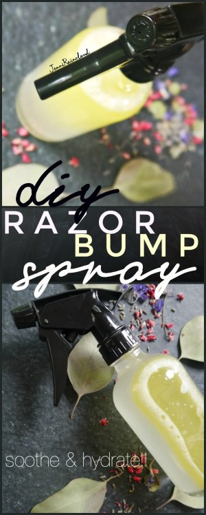 DIY Razor Bump Spray