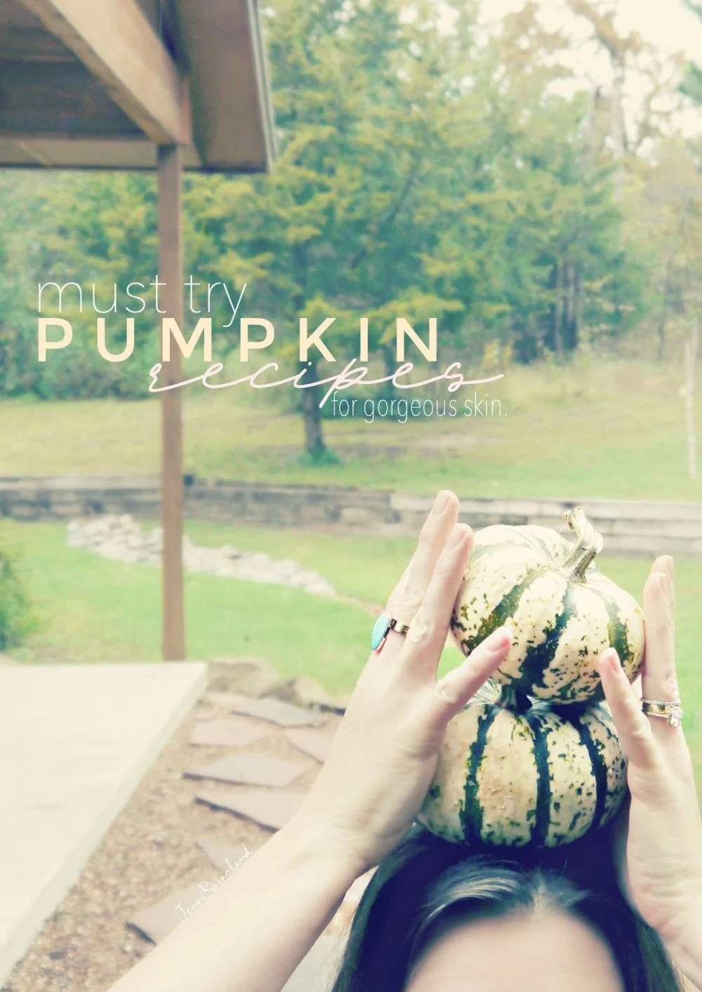 Must Try Pumpkin Recipes for Gorgeous Skin.