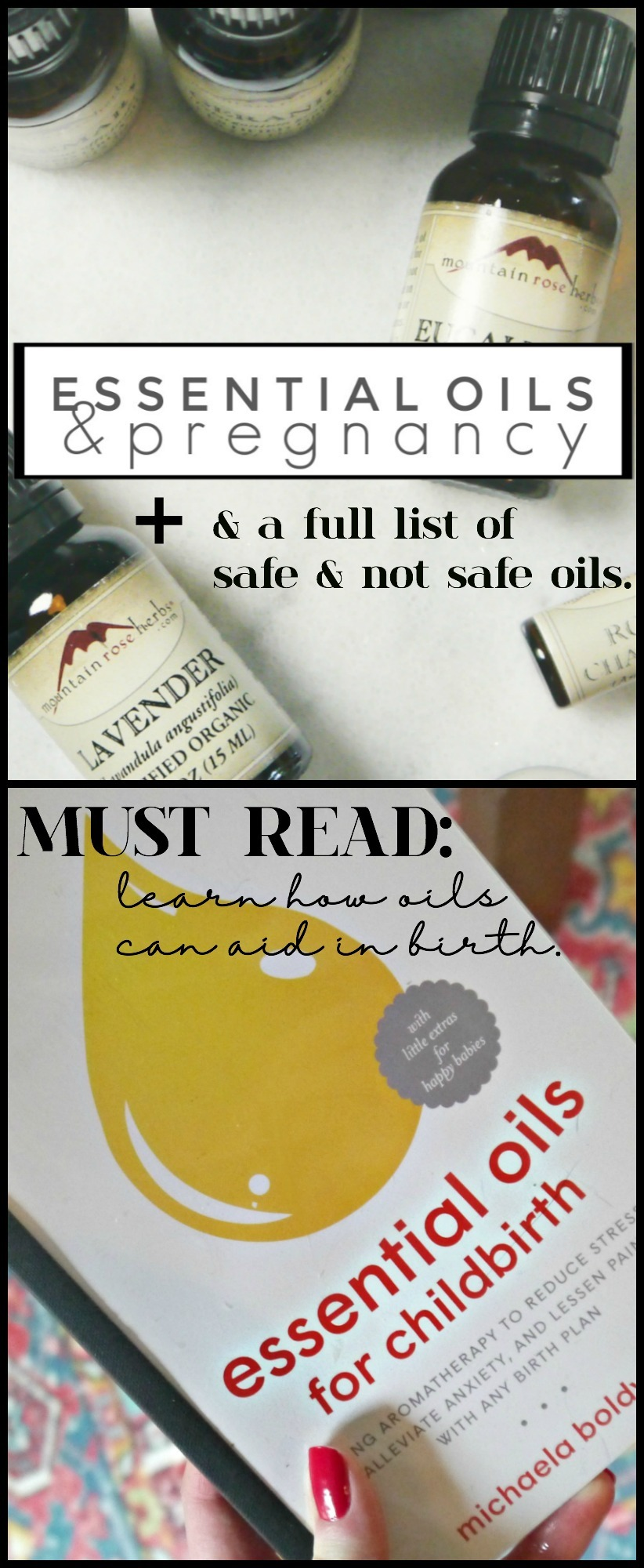 Essential Oils and Pregnancy