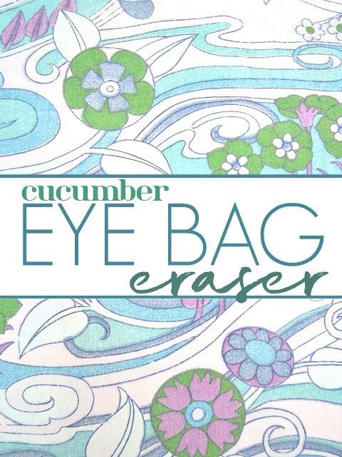 Eye Bag Eraser Label