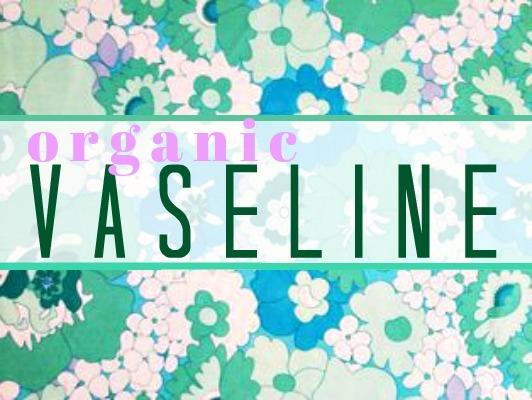 Vaseline label