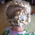 Cute girls hairstyles flower braid i found it on cute girls