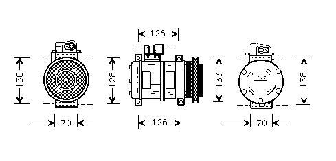 Denso Ac Compressor Valeo Ac Compressor Wiring Diagram