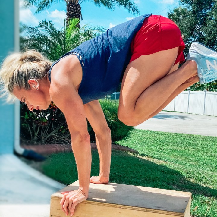 Box HIIT with Modifications for Beginners