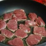 Pork Medallions In White Wine Mushroom Sauce Tutus And Rainboots
