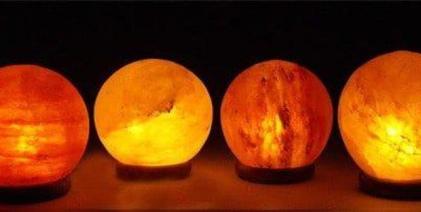 The Globe Salt Lamp