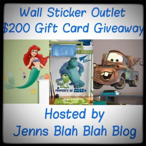 $200 Sticker Giveaway