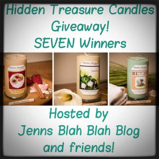 Hidden Treasure Candle Giveaway