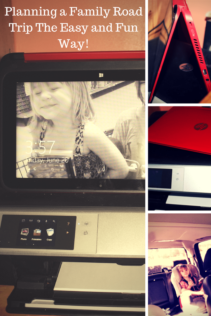 Planning A Family Road Trip with HP Pavilion