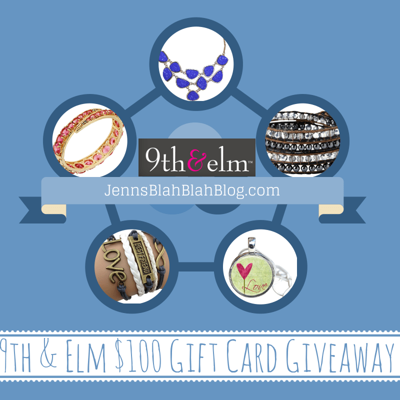 9th & Elm $100 Gift Card Giveaway