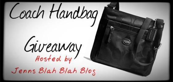 Black Coach Handbag Giveaway