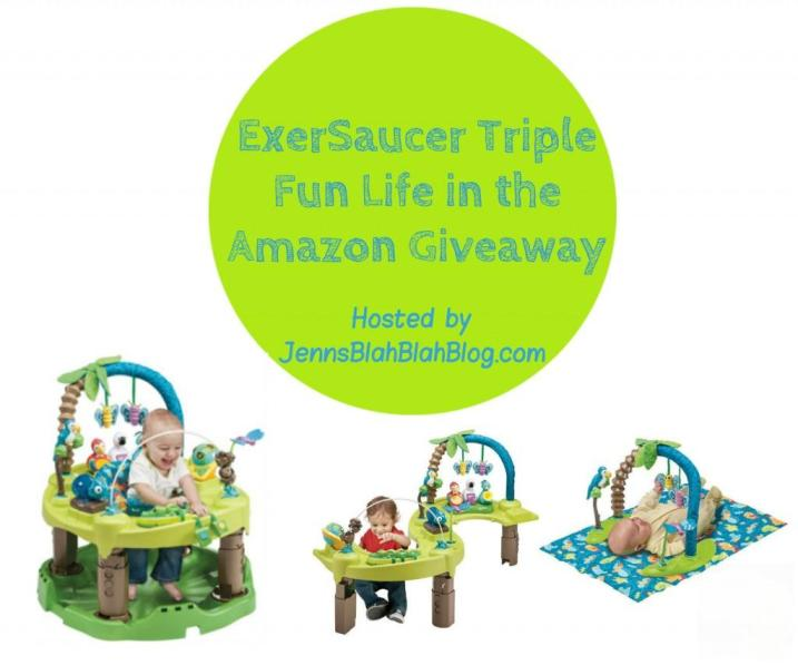 ExerSaucer Triple Fun Life in the Amazon