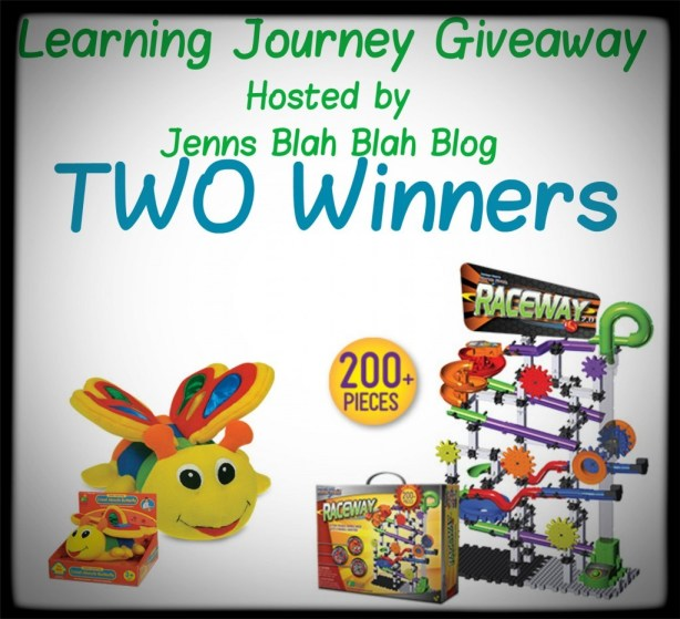 Learning Journey Giveaway image of prizes