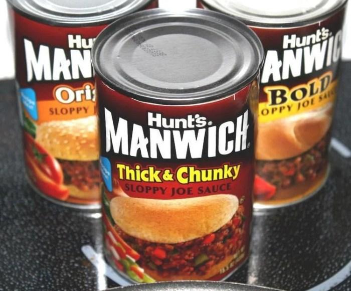 Manwich easy dinner ideas