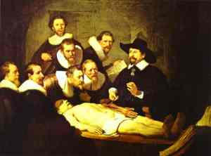 doctor nicolaes tulp's demonstration of the anatomy of the arm rembrandt