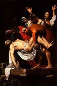entombment of christ caravaggio
