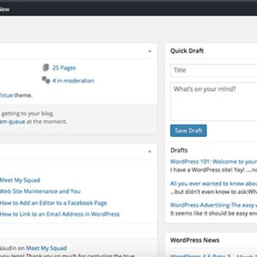 WordPress 101: Welcome to your new site!