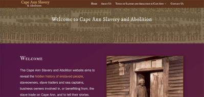 capeannslavery home page