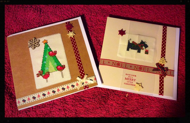 A cross stitched Christmas 2015