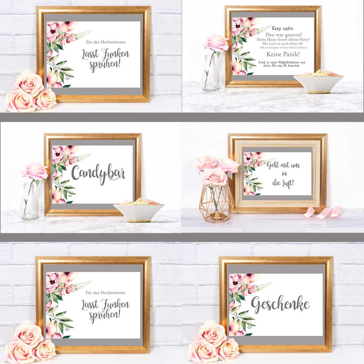 Hochzeitskarten Vorlagen Einladungskarten Gestalten Kostenlos Amazon