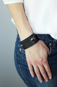 Black & Shine, Leather Bracelet