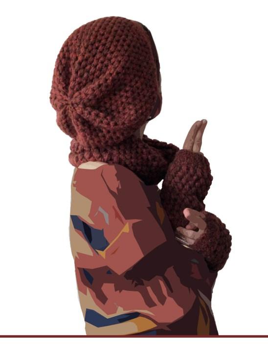 Bonnet slouchie porte-