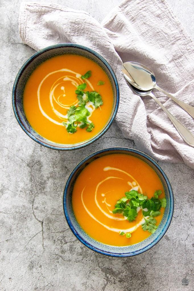 pompoensoep met wortel