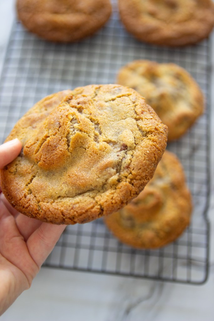 Chocolade pecan koekjes