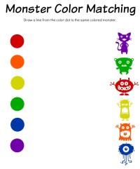 Monster Math Printable Worksheets - free printable ...