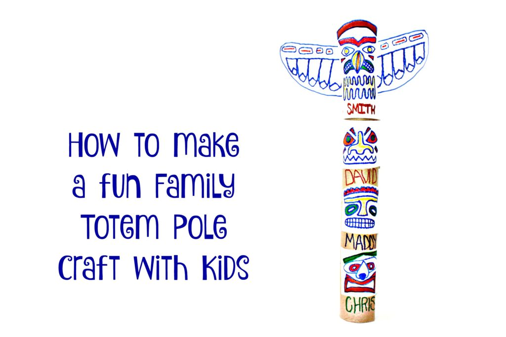 Fantastic fun and learning your kids will be thrilled when they see these butterfly crafts just for them! Family Totem Pole Craft Jenny At Dapperhouse