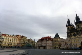 ...until I reached the charmingly empty Old Town Square.