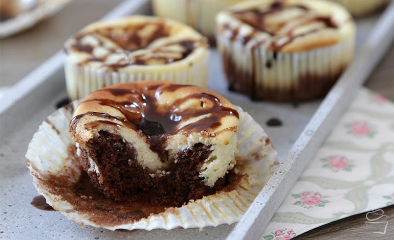 {Cupcake Monday} Chocolate Cheesecake