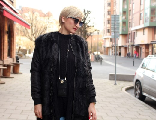 fur long bomber