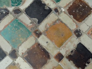 Mosaic floor - casbah