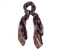 Giraffe Print Silk Scarf | Jenny Collicott