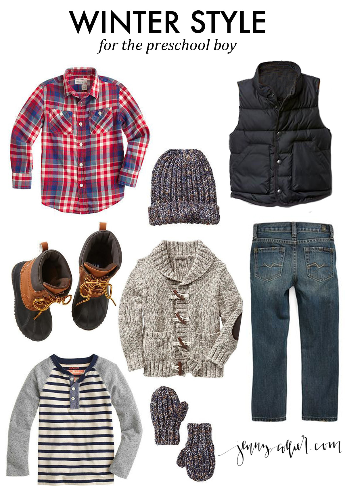Winter Fashion For Boys And Girls Jenny Collier Blog