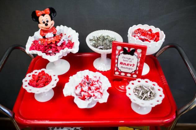 decoração de aniversário minnie mouse
