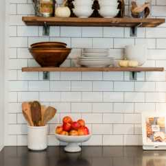 Easy Kitchen Remodel Metal Shelves Simple Changes To Transform The Look Of Your Jennycookies
