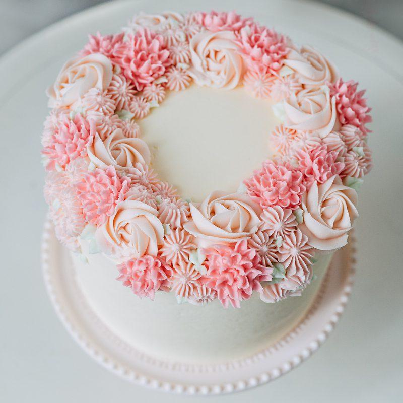 Triple Layer Birthday Cake