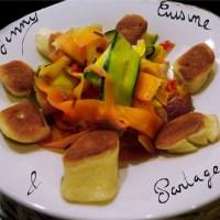 Wok Bok Choy et légumes croquants