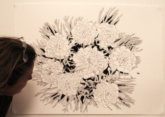 pic of flower drawing 006